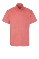 Clothing & Accessories  - ETERNA KORTE MOUW OVERHEMD REGULAR FIT UPCYCLING SHIRT OXFORD ORANJE