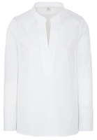 Clothing & Accessories  - LANGE MOUW BLOUSE 1863 BY ETERNA - PREMIUM STRETCH WIT UNI