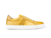 Shoes  - Caracalla - Low top mais steam crust leather sneakers