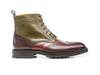 Colombo - Ankle wing brogue boot deco multicolor