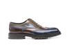 Da Vinci - Multicolour Decò Leather Men Oxford Wing Brogue