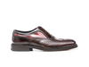 Da Vinci - Red polished coffee deco Men Oxford Wing Brogue