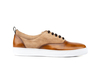 Danilo - Sneakers oxford polished suede brown