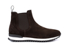 Febo - Chelsea boot running suede coffee