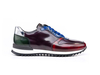 Italo - Low top running multicolor polished