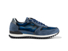 Italo - Low top running polished suede blue