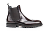 Luciano - Coffee Polished Leather Men Chelsea Boot