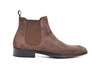 Roberto - Coffee Suede Leather Men Chelsea Boot