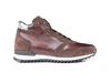 Romano - High top running deco leather brown