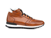 Romano - High top running deco leather dark brown