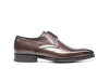 Tiberio - Coffee Calf Crust Leather Men Derby Punch