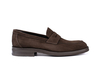 Uliassi - Coffee suede penny loafer